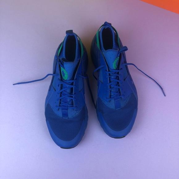 size 40 7bfef bbfe5 Blue huaraches men's 11